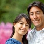 Happy couple portrait — Stock Photo #7708290