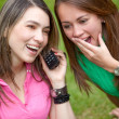 Girls on the phone — Stock Photo #7708330