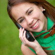 Woman on the phone — Stock Photo #7708335