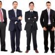 stora företag team — Stockfoto