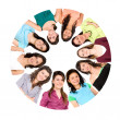 Circle of women — Stock Photo