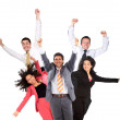 Hands up in the air — Stock Photo #7708389