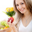 Healthy eating woman — Stock Photo #7708416