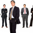 Business man and his team — Stock Photo #7708529
