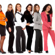 Business team - banner ad - Stock Photo