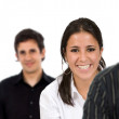 Happy business team — Stock Photo #7708552