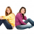 Casual girls — Stock Photo