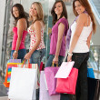 Shopping girls — Stock Photo #7708592