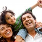 Family having fun — Stock Photo #7708688