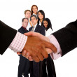 Business handshake — Stock Photo #7708745