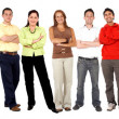 Large group of — Stock Photo