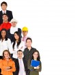 Professions and ocupations — Stock Photo