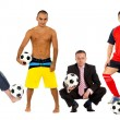 Football fans — Stock Photo #7708803