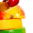 Sandwich of fruits — Stock Photo