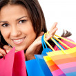 Shopping girl — Foto Stock