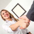 Business handshake — Foto de stock #7709331