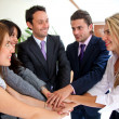 Stock Photo: Business team work