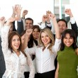 Business team success — Stock Photo #7709382