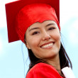 Graduate female - Stock Photo