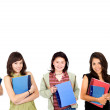 Royalty-Free Stock Photo: College female students