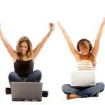Success on the internet — Stock Photo #7709480