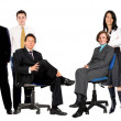 Large business group — Stock Photo