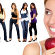 Healthy eating women — Stock Photo #7709537