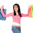 Women with shopping bags — Stock Photo #7709556