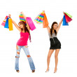 Women with shopping bags — Stock Photo #7709570