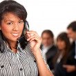 Business customer support operator — Stock Photo #7709600