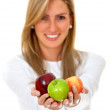 Healthy woman — Stock Photo