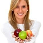Healthy woman — Stock Photo #7709697