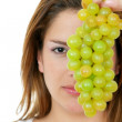 Fitness grapes — Stock Photo