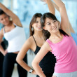 Aerobics class in a gym — Stock Photo #7709747