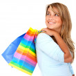 Stock Photo: Going shoping