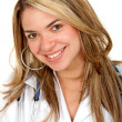 Attractive female doctor - 
