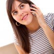 Woman on the phone — Stock Photo #7709913