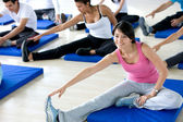 Stretching class — Stock Photo