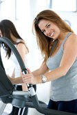 Beautiful gym woman — Stock Photo