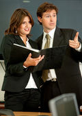 Business couple — Stock Photo