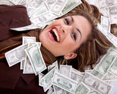 Business millionaire — Stock Photo