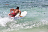 Man surfing — Stock Photo