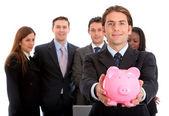бизнес сбережения — Стоковое фото