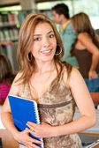 Library student — Stock Photo