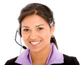 Business customer support operator — Stock Photo