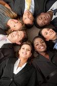 çok etnik gruptan oluşan iş grubu — Stok fotoğraf