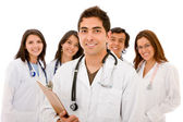 Doctors - isolated — Stock Photo