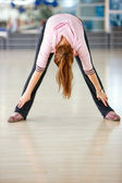 Female stretching — Stock Photo