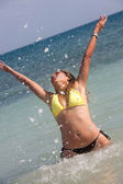 Beach freedom — Stock Photo