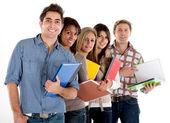 Grupo de estudantes — Fotografia Stock